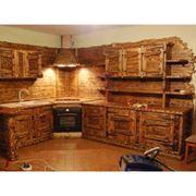 Кухни под старину. Мебель под старину фото