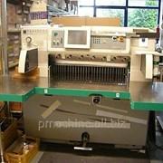 Бумагорезальная машина PERFECTA 92 TVC 2004 год большие столы фото