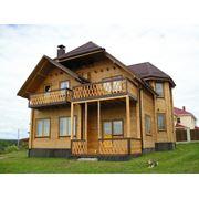 Изготовление деревянных профилированных домов фото