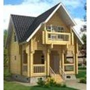 Срубы домов фото