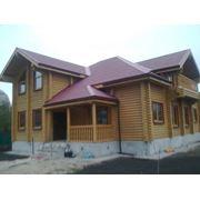 Производство и строительство деревянных домов коттеджей фото