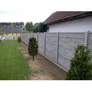 Заборы бетонные декоративные фото