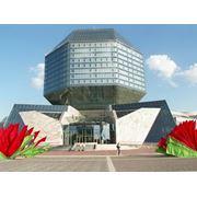 Строительство национальной библиотеки Беларуси фото