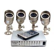 Монтаж систем видеонаблюдения любой сложности фото