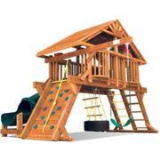 Деревянные детские домики фото
