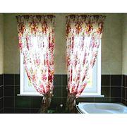 Занавески для ванной комнаты фото