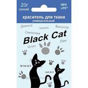 """Краситель универсальный для ткани """"BLACK CAT"""" фото"""