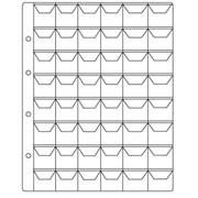 Лист для монет, на 20,35,48 ячеек. Производство Россия фото