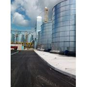 Проект зернохранилища вертикального типа на 2-40т из ЛМК с зерносушилкой и зерноочистителем фото