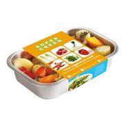 Алюминиевая упаковка для пищевых продуктов фото