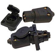 Соединители электрические штепсельные для системы безопасного сверхнизкого напряжения фото