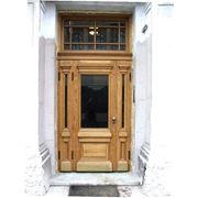 Двери входные деревянные фото