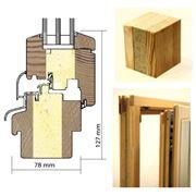 Энергосберегающие деревянные окна со слоем Purenit фото