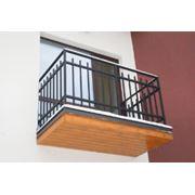 Металлический балкон фото