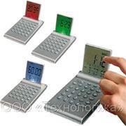 5 в 1 Калькулятор, цветной дисплей, серебро фото