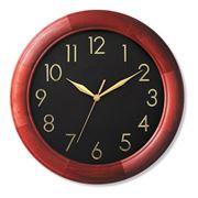 Часы настенные из натурального дерева фото