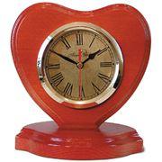 Часы настольные изготовлены из массива экологически чистого дерева (дуб сосна береза). фото