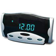 Часы сетевые с вакуумно-люминисцентной или светодиодной индикацией. фото