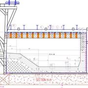 Футеровка газовой печи для плавки лома и отходов из алюминия на 15 тон. фото