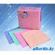Салфетки бумажные цветные однослойные фото