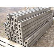 Столбы бетонные для заборов фото