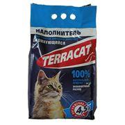 Наполнитель комкующийся для туалетов домашних животных Terracat фото