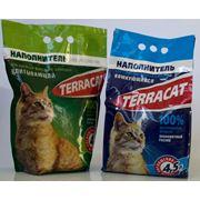 Наполнители для кошачьих туалетов TERRACAT фото