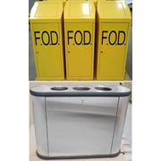 Металлические мусорные контейнеры и ящики фото