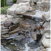 Строительство искусственных водоемов, гротов и каскадов фото