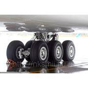Утилизация авиационных шин фото