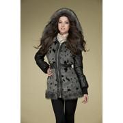 Куртка женская с капюшоном. Модель П-1636И3 Артикул 12С229-Д41 фото