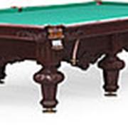 Бильярдный стол для русского бильярда Rococo 12ф (махагон) фото