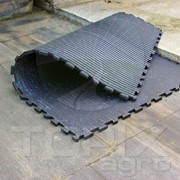 Покрытие резиновое для навозных проходов, щелевых полов и зон ожидания фото