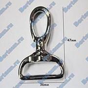 Карабин №10 метал. для сумок GM никель фото
