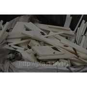 Обрезки листового пластика ПП (блоксополимеры) фото