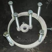 Струбцины прижимные для производства труб в ппу-изоляции фото