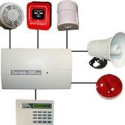 Система охранно-пожарной сигнализации фото