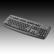 Клавиатура LOGITECH Deluxe 250 USB фото