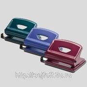 Дырокол Office Force F Small,пурпурн,мет.корп,16л,2отв d6мм фото