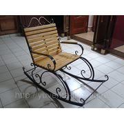 Кованая мебель: кресло - качалка