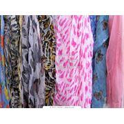 Платки женские шелковые фото