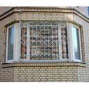 Сварные решетки на окна фото