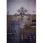 Крест кованый фото