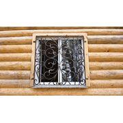 Кованая оконная решетка… фото