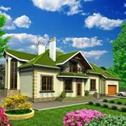 Проекты домов и коттеджей готовые фото