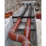 Прокладка сетей наружной и внутренней канализации. Имеется своя техника для земельных работ, укладки труб и т.д. фото