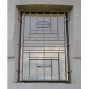 Металлическая решетка на окна 14 фото