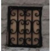 Оконная решетка для дачного домика 018 фото