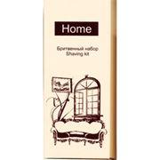 Набор бритвенный в картонной коробочке. Серия Home фото