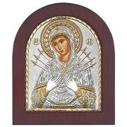 Икона Семистрельная (Умягчение злых сердец) фото